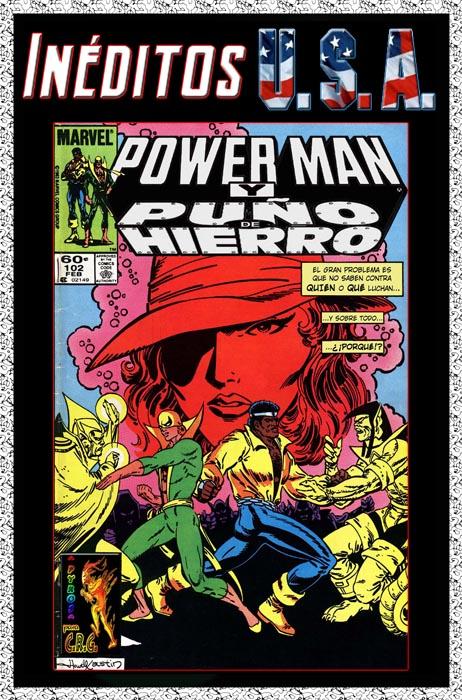 Portada Powerman y Puño de Hierro Nº 102 traducida