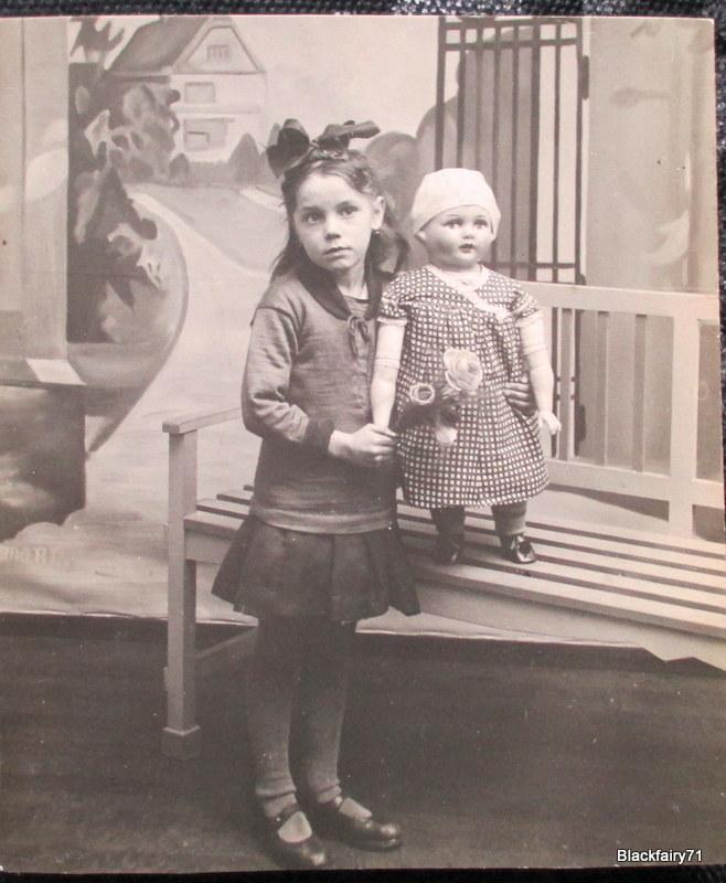 Meine Oma Martha als Kind