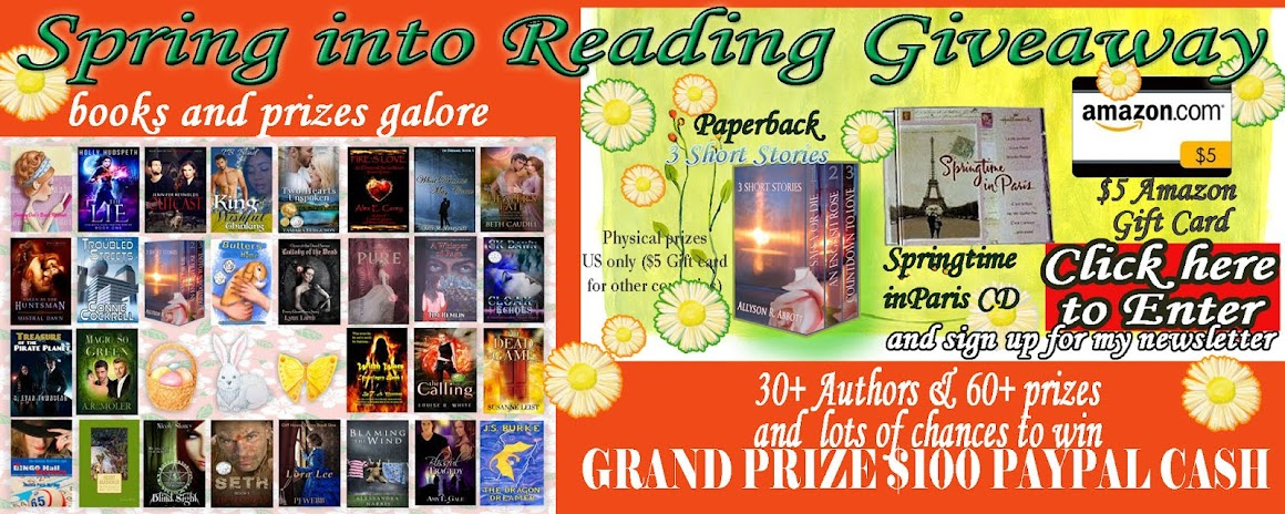 Spring Into Reading Giveaway