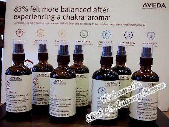 aveda chakra balancing body mist