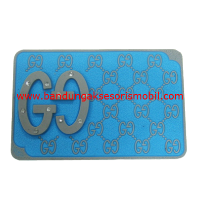 Dash Mat Gucci Berlian Abu - Biru Japan