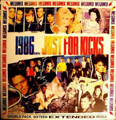1986...Just For Kicks (2LP Set) Extended 12'' Mixes (Various Artists) 80's