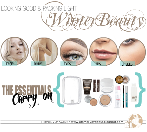 winter skincare packing guide
