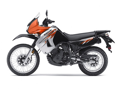 2011-Kawasaki-KLR-650-Orange-Head