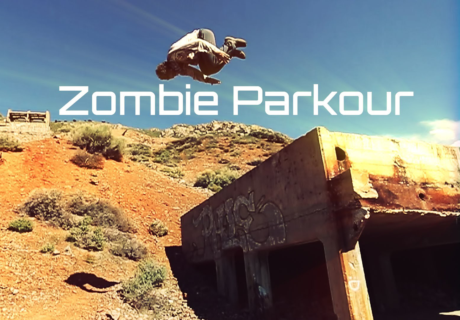 WATCH Zombie Parkour - The Flipping Dead: Zombie of the Week