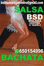 BACHATA INICIACIÓN EN BSD BAILAS SOCIAL DANCE MÁLAGA CENTRO .
