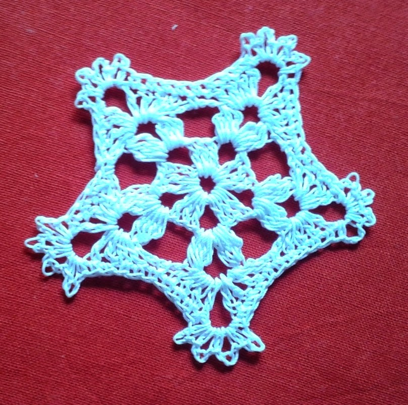 Yet another snowflake design free crochet patterns