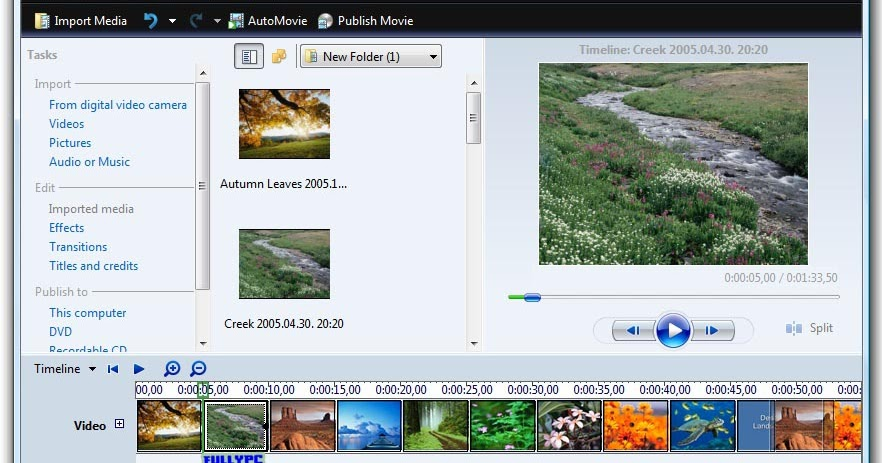 Windows Movie Maker for Windows 7 - Free Download Full ...