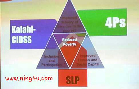Department of Social Welfare and Development's three Anti-poverty