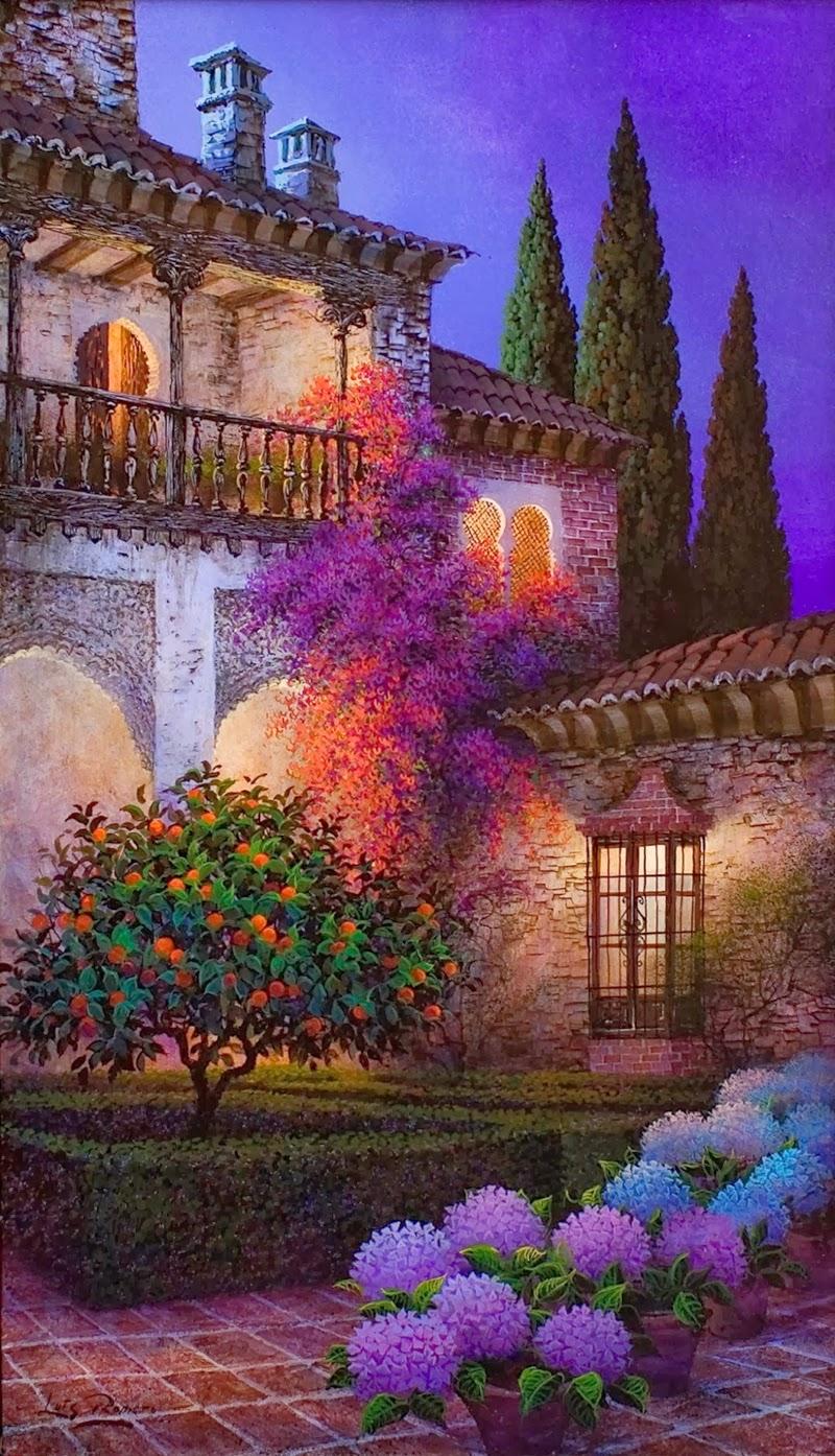 Luis Romero Spanish Spray Painter Colorful Landscapes