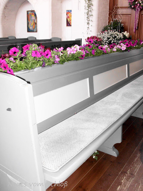 Blumenwoche Kirche Winsen, Neues vom Schloß