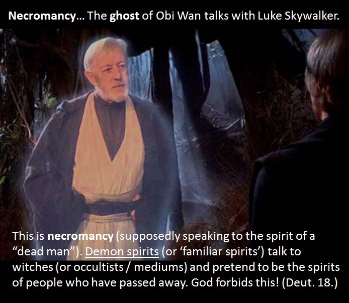 Star Wars is an Abomination to God.