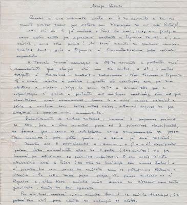 Otra Carta de Joâo da Moura  a Ángel Ribera, 1954 (1)