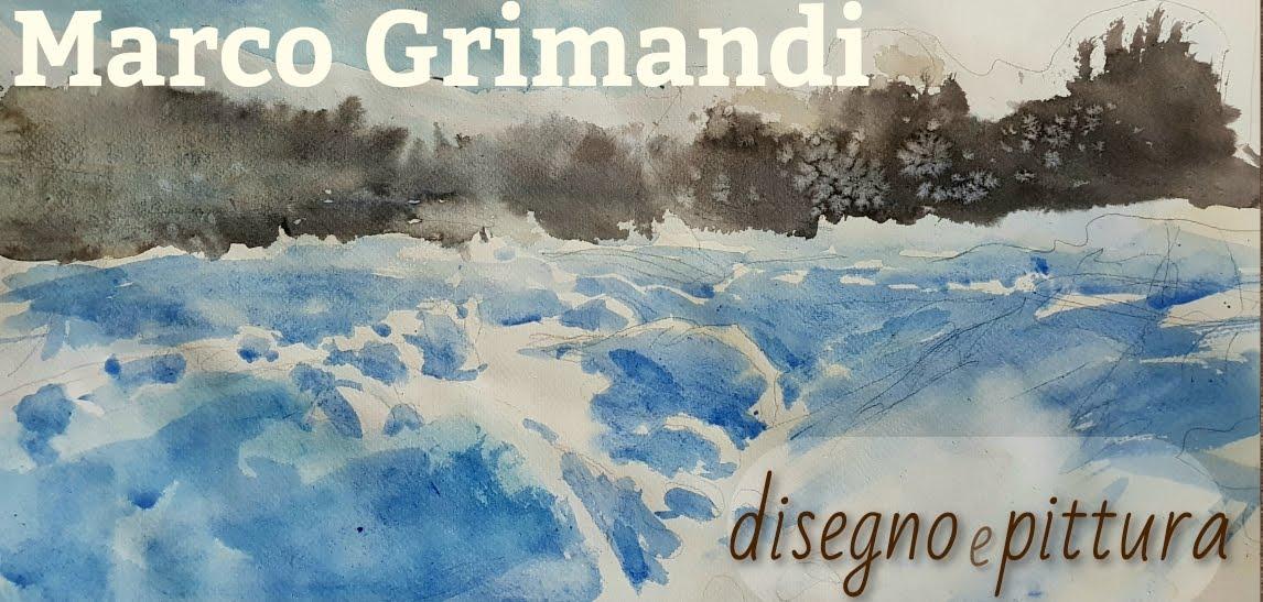 Marco Grimandi,  pittura