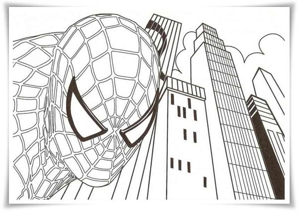 Ausmalbilder Spiderman Lego: Ausmalbilder Zum Ausdrucken: Spiderman Ausmalbilder