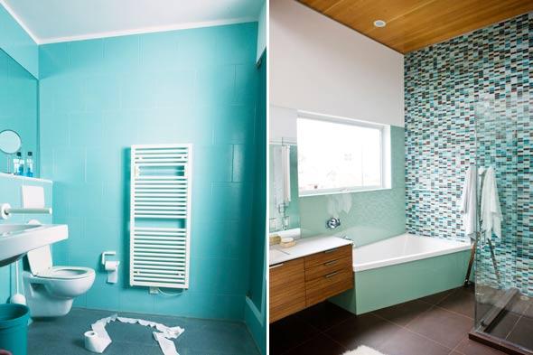 Mind the gap your majesty turkuaz banyolar for Aqua colored bathroom ideas