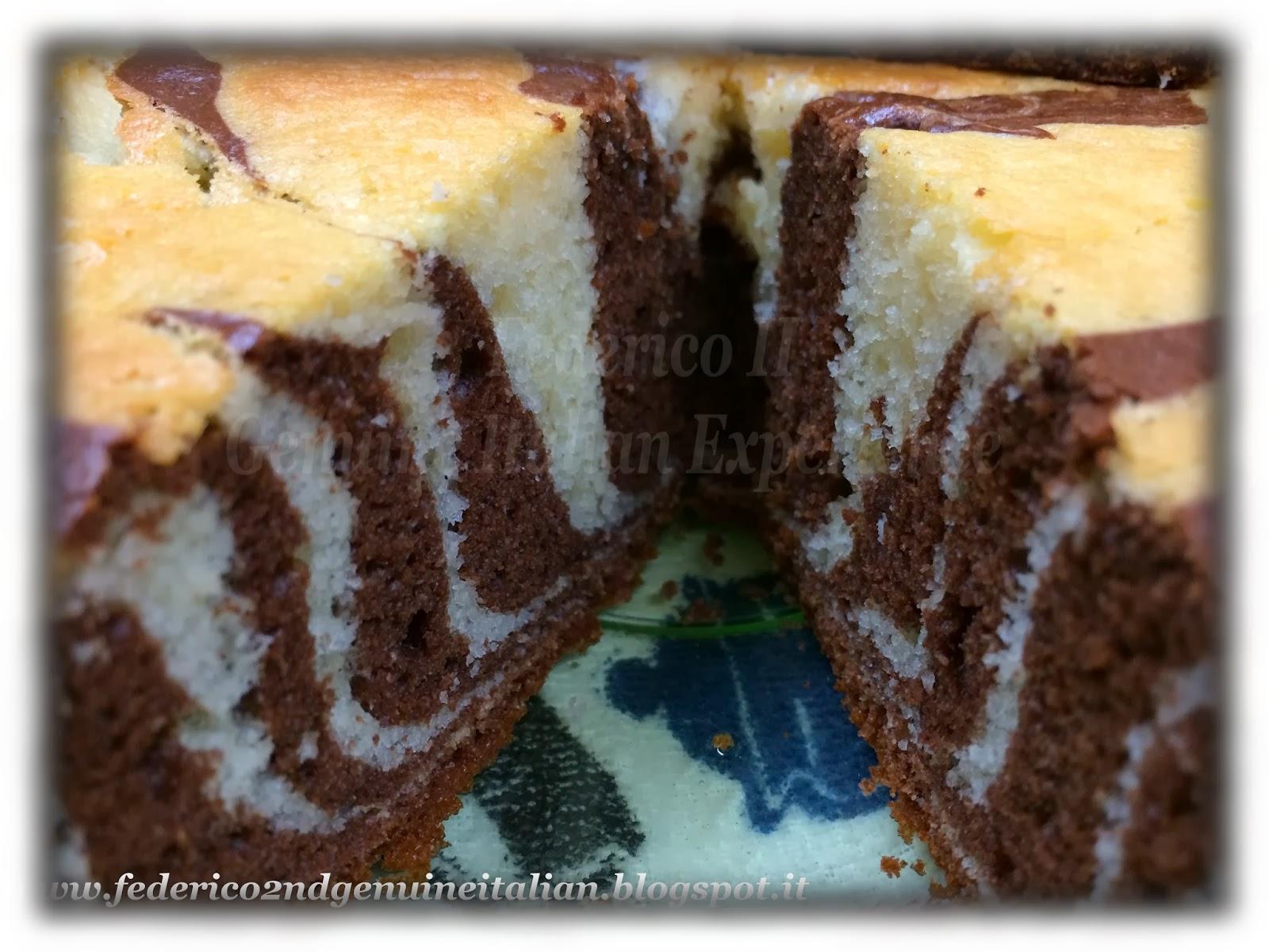 zebra cake / torta zebrata
