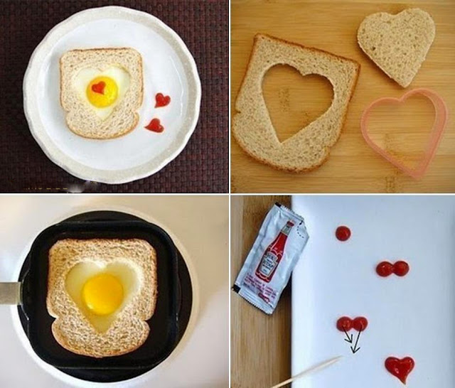 How to make a romantic breakfast
