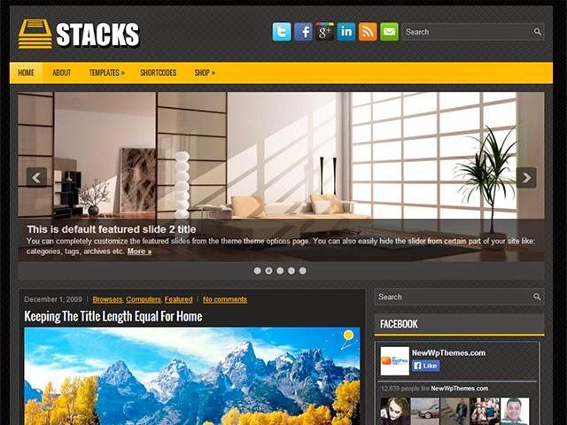 Stacks Free Wordpress Theme