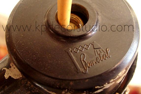 Flexo bometal años 40 fabricado en barcelona estilo industrial.