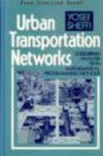 Download Urban Transportation Networks Book