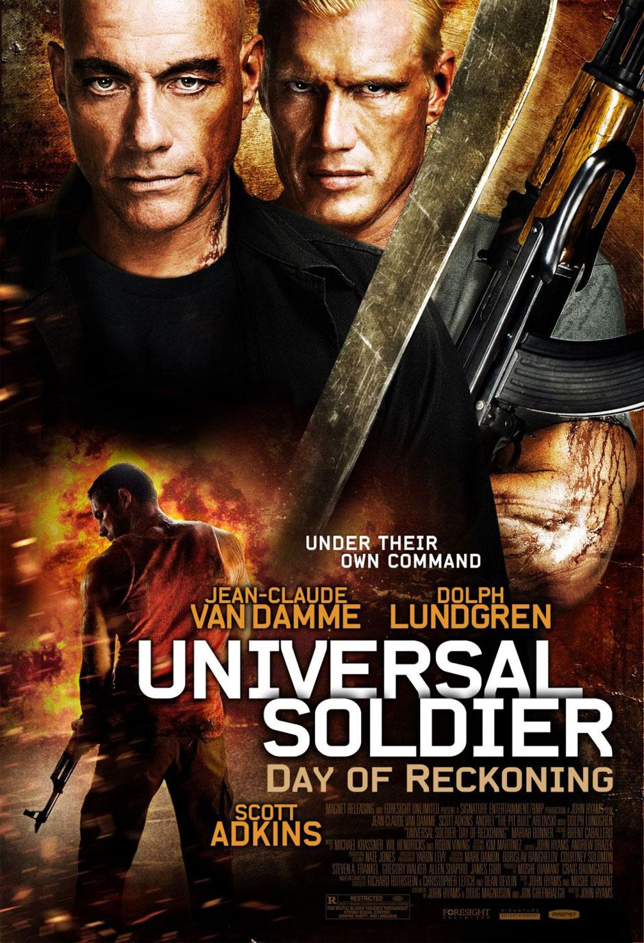 Watch Universal Soldier Day of Reckoning Movie Online Free 2012