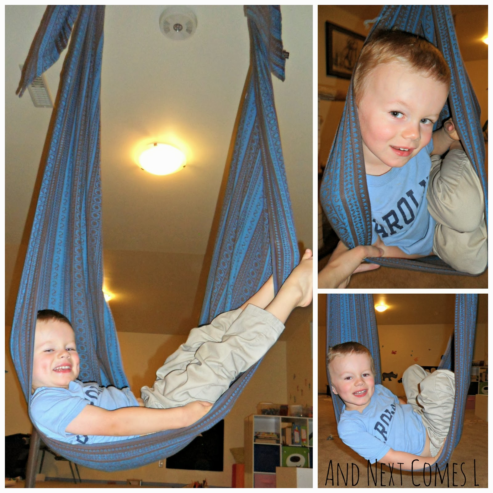 diy woven wrap swing how to make a sensory swing and