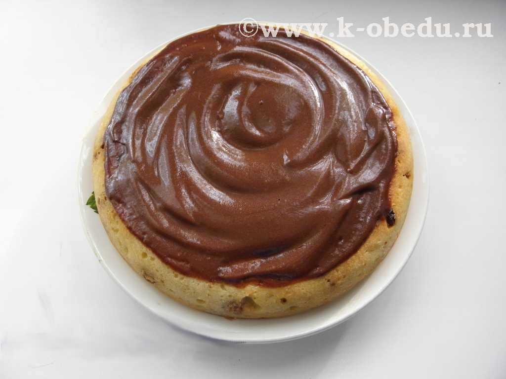 шоколадная глазурь для торта из шоколада и сметаны рецепт