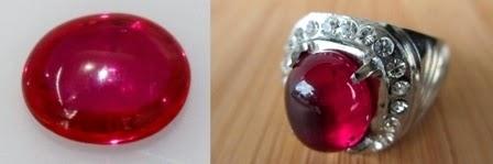 Batu Merah Delima Asli dan Harganya, Cek!