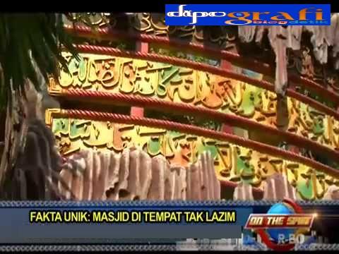 Ilustrasi 2 Masjid Ini Lokasinya Eksotik! - dipoGrafi