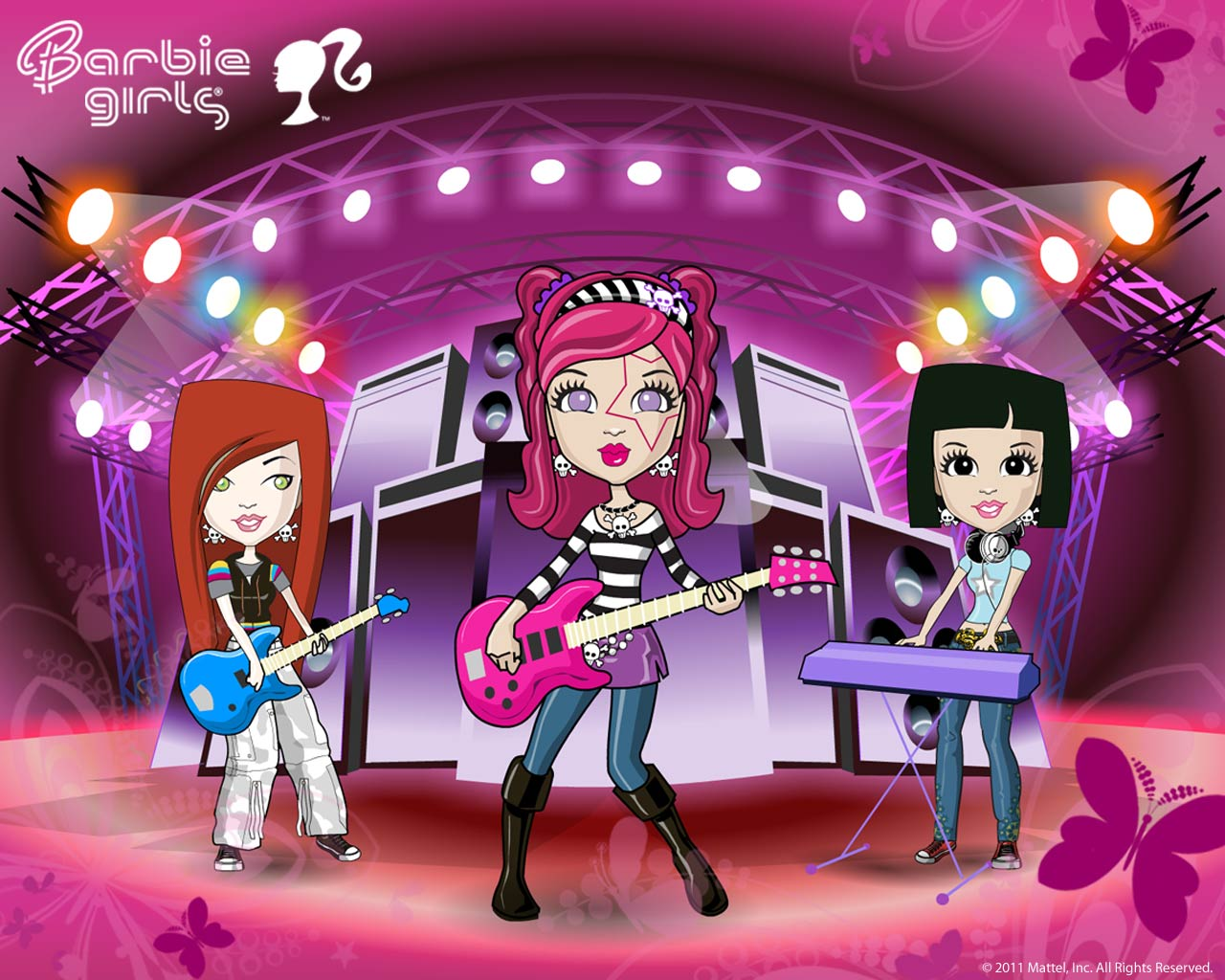 Barbie Girls World  Now coming up    Wallpapers    BGirls Wallpaper 1