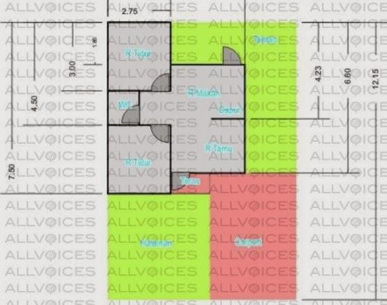 denah rumah tipe 36 denah rumah tipe 36 denah rumah