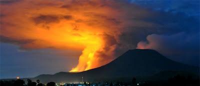 ALERTA Y EVACUACION EN INDONESIA POR POR AUMENTO DE ACTIVIDAD DEL VOLCAN MERAPI