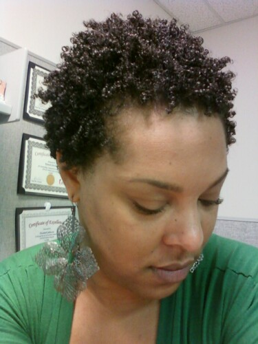 Wash And Go With Fantasia IC Olive Oil Gel ROCKIN IT