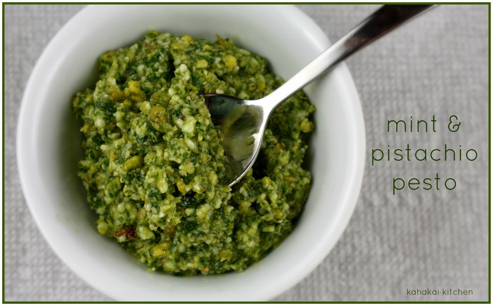mint pesto mint and pistachio pesto mint basil pistachio pesto mint ...