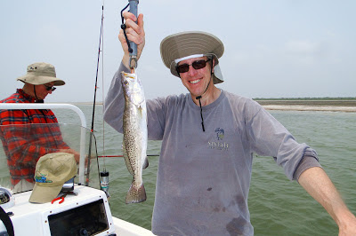 Speckled Trout, Glen Evans, JustGoFishin.com