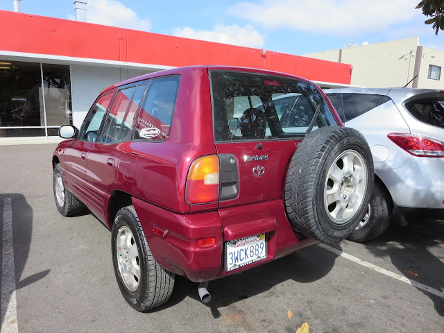 97 RAV4 with dents fixed and overall car paint from Almost Everything Auto Body