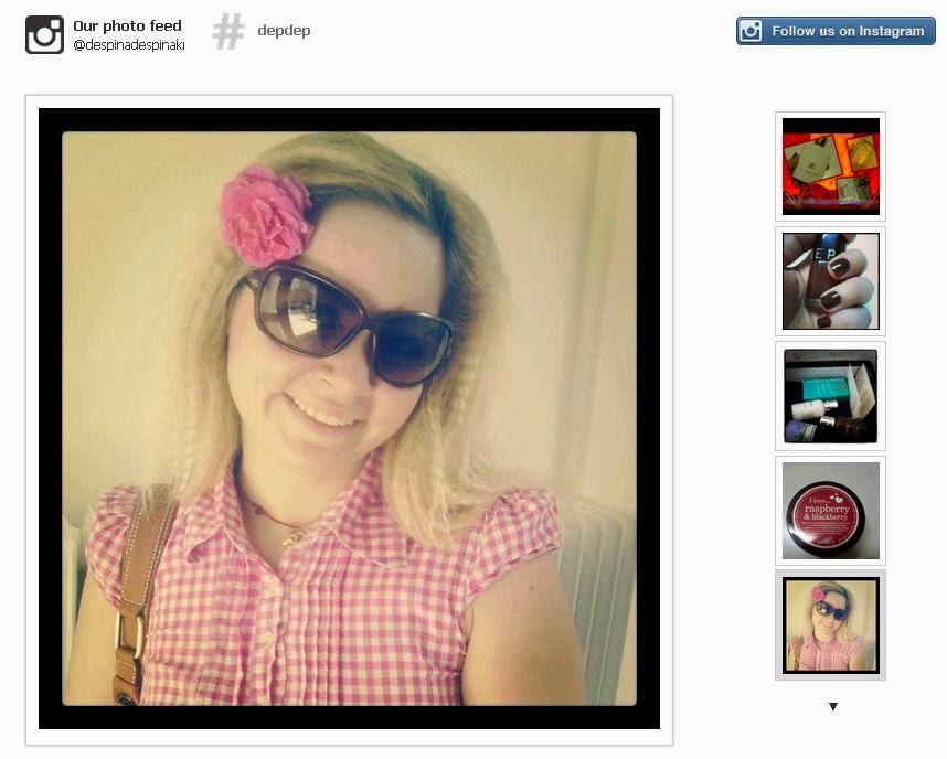 Instagram time!!! Δέσποινα!