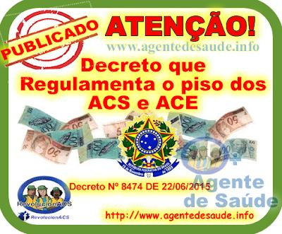 Decreto%2BREGULAMENTA%2BO%2BPISO Decreto que Regulamenta o piso dos ACS e ACE