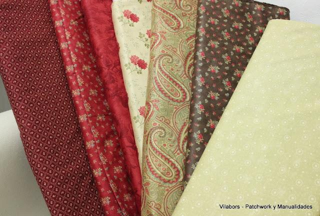 Colección Double Chocolate de Moda Fabrics - Vilabors