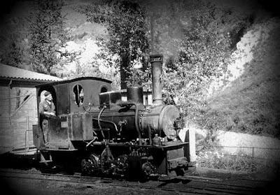 estación tren riutort mina petroleo guardiola bergueda