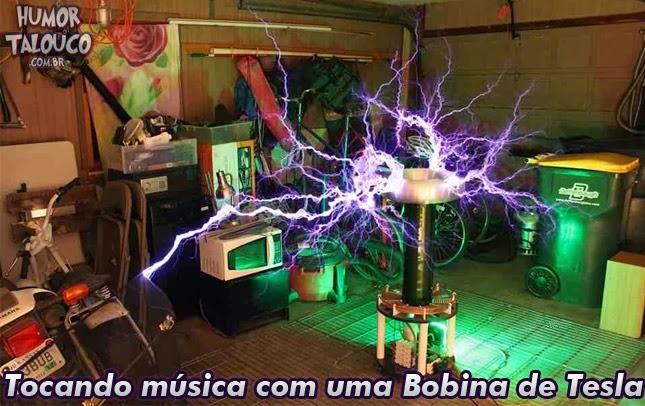 Tocando música com uma Bobina de Tesla