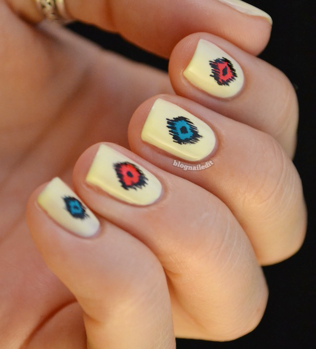 Artistic Nail Design Color Gloss