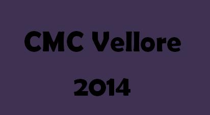 CMC Vellore 2014