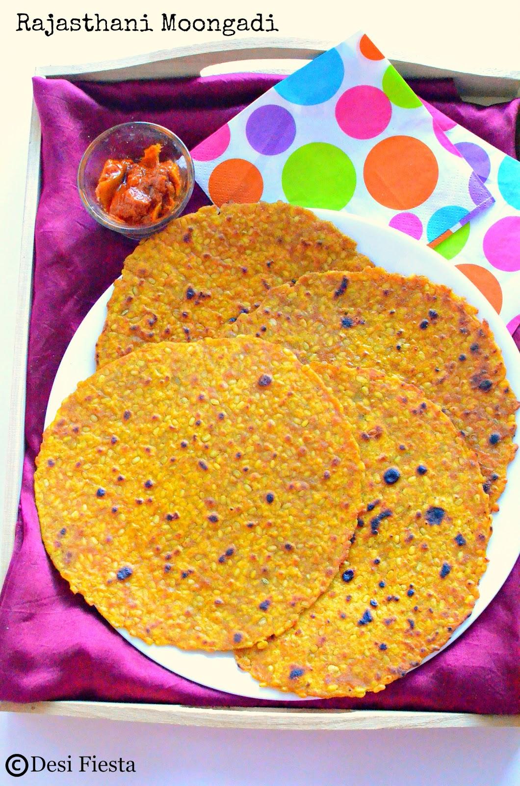 Rajasthani Roti recipes