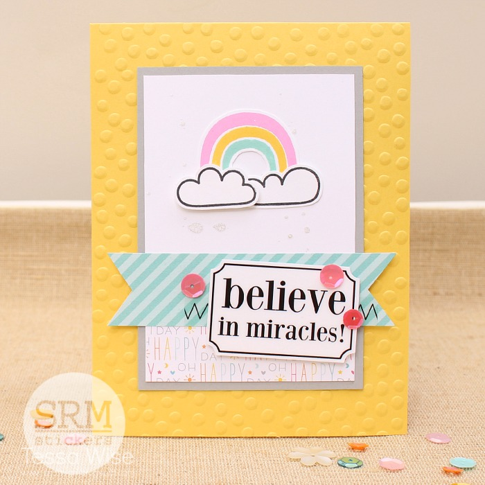 SRM Stickers - Inspirational Cards in a Box by Tessa - #cards #gift #A2 #twine #stickers #doilies