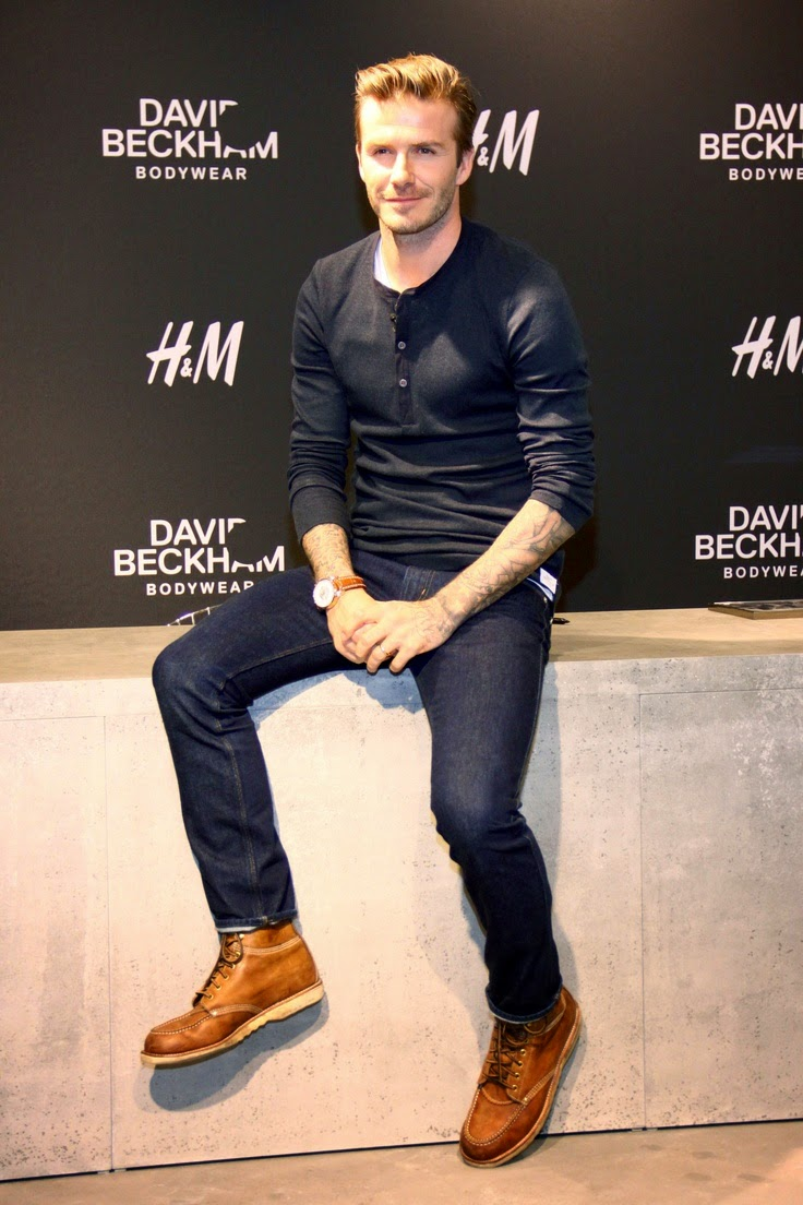 Fashion Icons : David Beckham