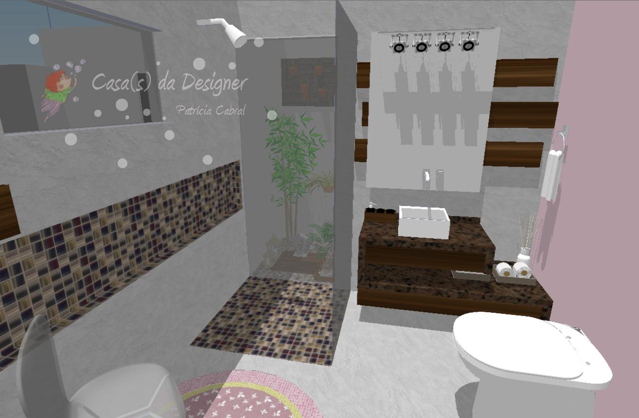 Casa(s) da Designer: Projeto de Banheiro #878244 1280 838