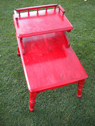 retro sidetable...SOLD