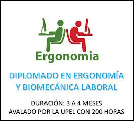 DIPLOMADO EN ERGONOMÍA Y BIOMECÁNICA LABORAL